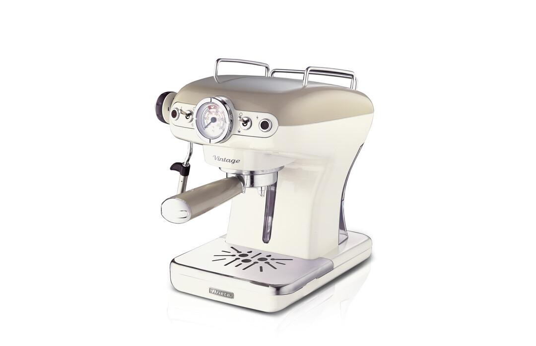 ARİETE - Ariete Vintage Espresso Kahve Makinesi Bej